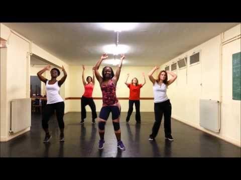 "▶ YSA ZUMBA Chorée Claudia Leitte Feat J. Perry ""Dekole"" - YouTube"
