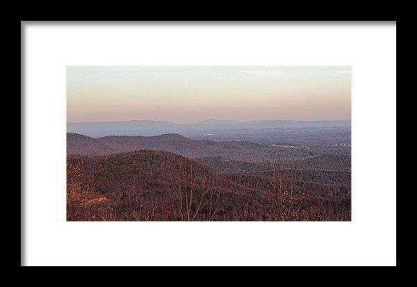 North Carolina Framed Print featuring the photograph The Mountains Of Nc by Cynthia Guinn