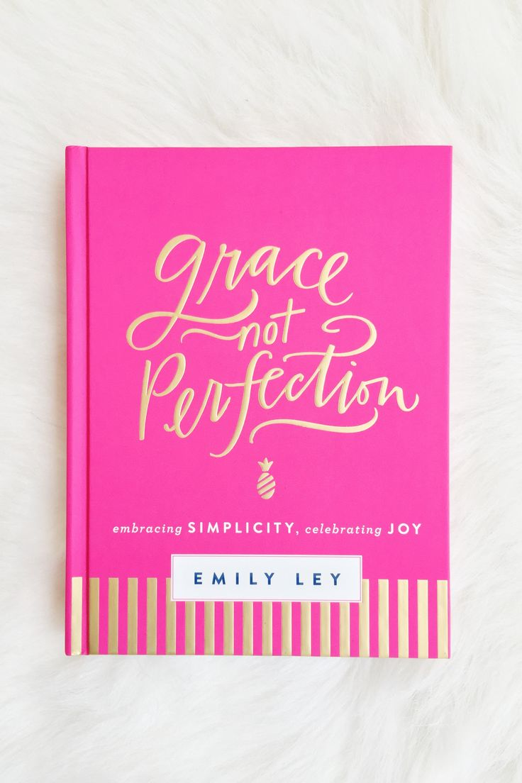 I will hold myself to a standard of grace, not perfection. As a busy wife, new mother, business owner, and designer, Emily Ley came to a point when she suddenly realized she couldn't do it all. She ne
