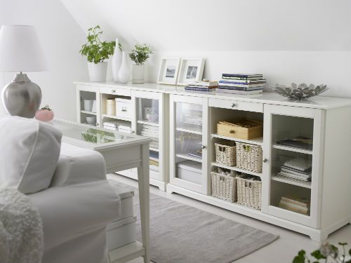 Ikea fan favorite liatorp sideboard beauty and brains for Hemnes wohnzimmer