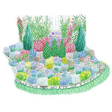 180 best Garden Plans images on Pinterest Landscaping Flower