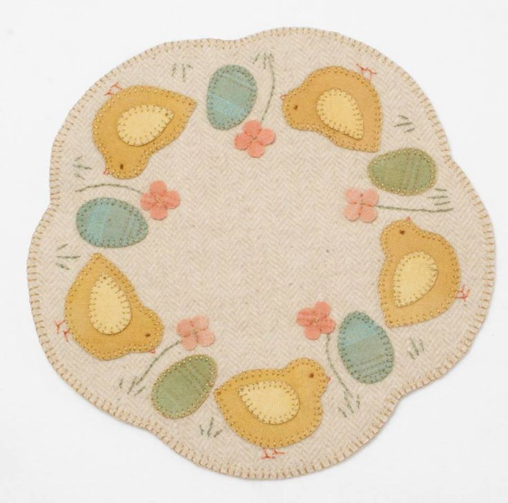 1000+ images about Chicken wool applique on Pinterest ...