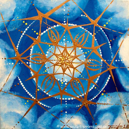 "SoulArt Mandala ""Kompass nach Hause"" #soulart #mandala #mandalaart #compass #sky #clouds #star http://www.soulart-mandala.de/?s=Kompass+nach+Hause&post_type=product"