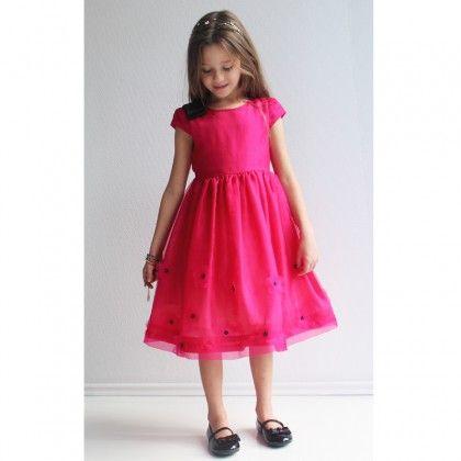 Pink Flower Organza Dress http://www.alexandalexa.com/innocence-yellow-gold-silk-blend-dress