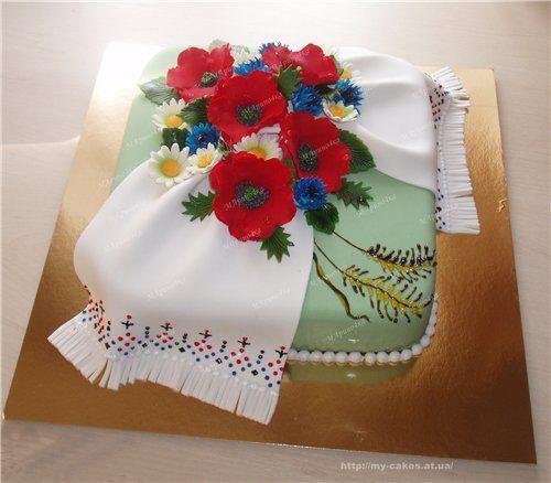 биатлон, барный торты с мастики вышиванки картинки фото