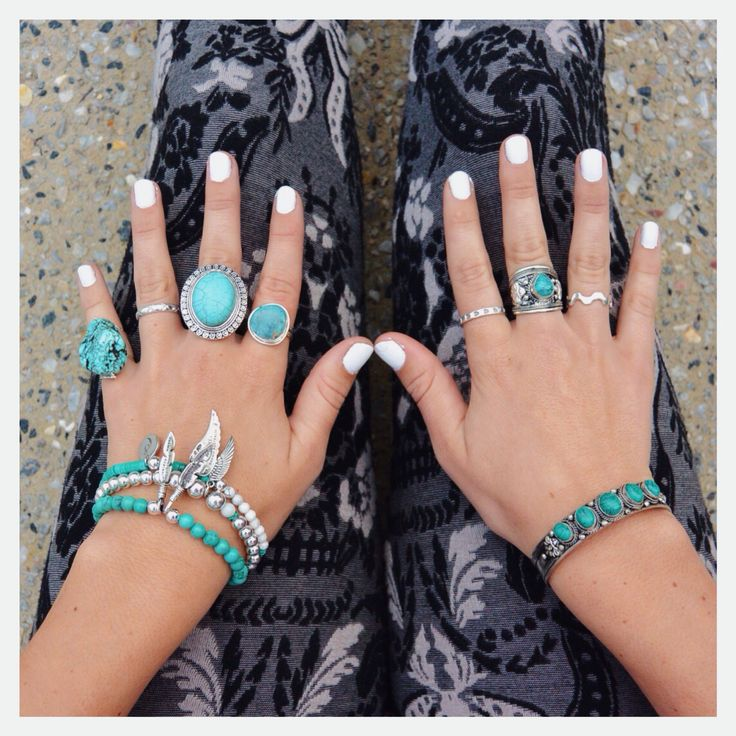 Turquoise love #jotd #turquoise #jewels #ootd #blogger #gypsy #boho