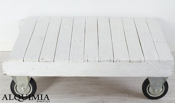 Of pallets side table