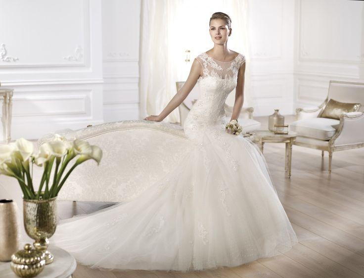 Olaso - Pronovias 2014 - Esküvői ruhák - Ananász Szalon - esküvői, menyasszonyi és alkalmi ruhaszalon Budapesten