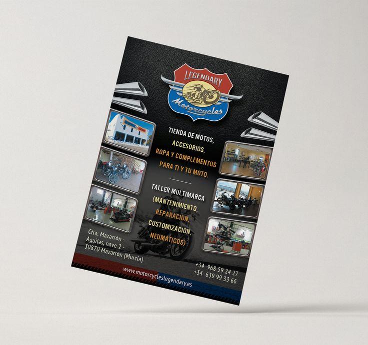 Рекламная листовка Legendary Motorcycles