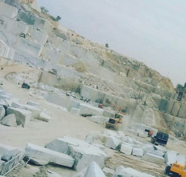 Mining of Marble