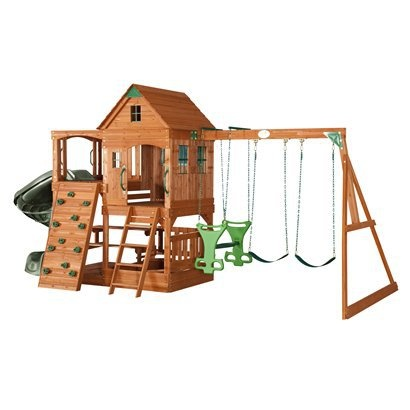 Adventure Playsets Patriot Wooden Swing Set.Opens in a new window  $1099, target, free shipping
