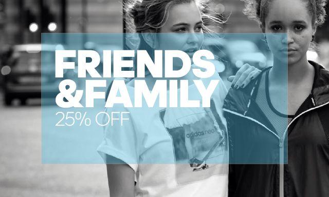 [Adidas] Promoção Friends & Family 25% OFF
