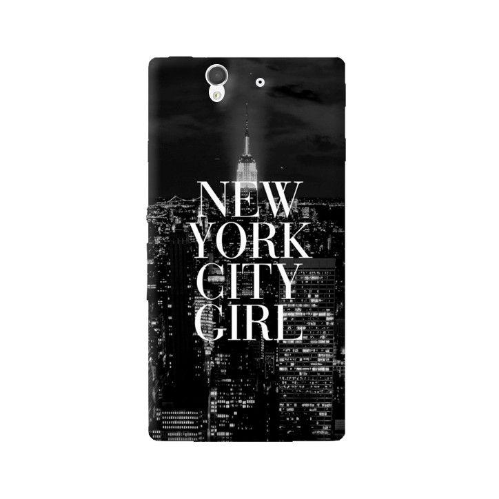 New York City Girl Sony Xperia Z Case from Cyankart