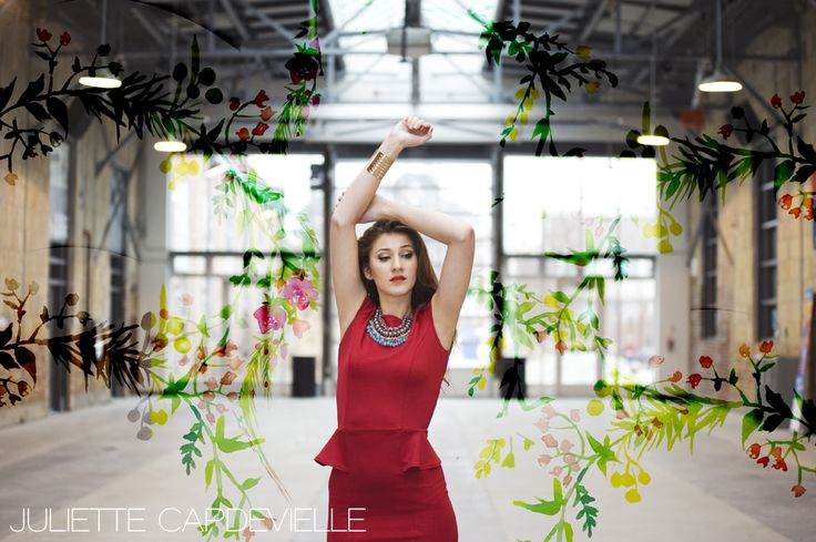 Spring Floral photoshoot in #Toronto  #fashion #Spring #redress