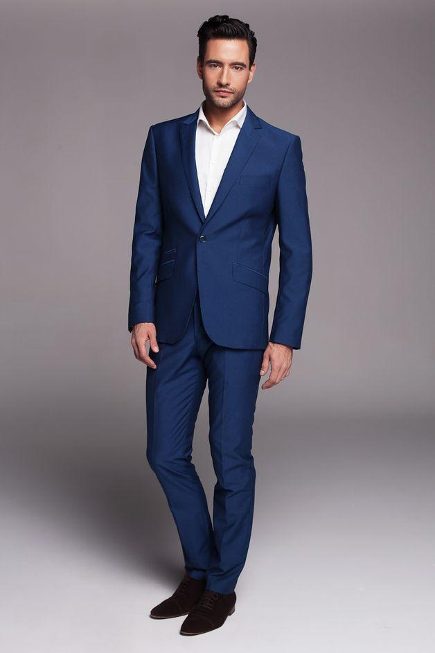 Garnitur blue - Filip-Lebelt - Garnitury męskie