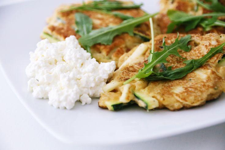 Zucchini-Puffer Rezept   Fit Trio Food & Fitness Blog aus Hamburg