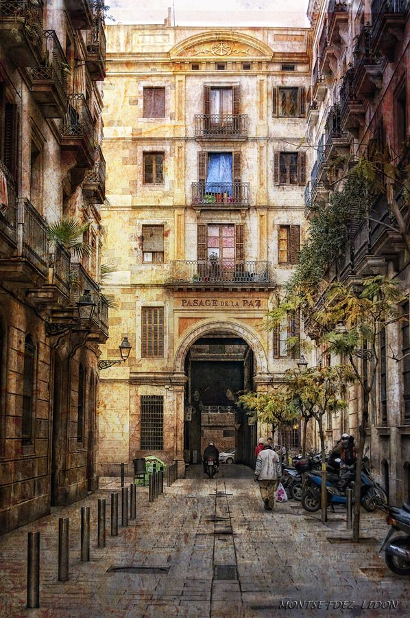 Paloma goes to study modern languages in Barcelona