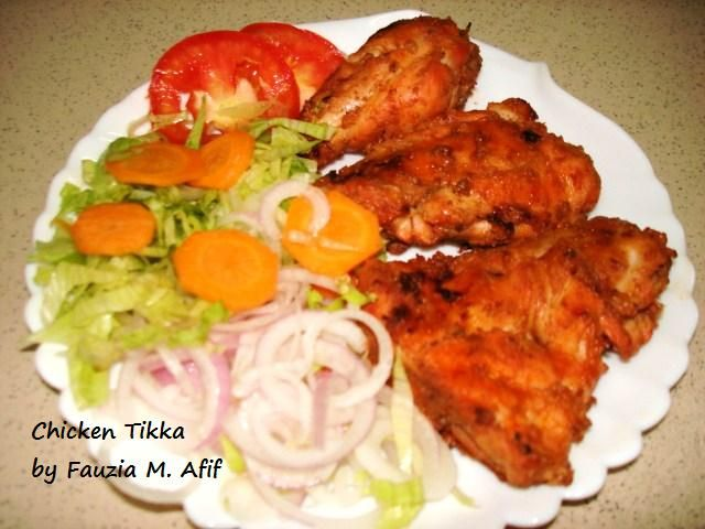 Chicken Tikka | Fauzia's Kitchen Fun