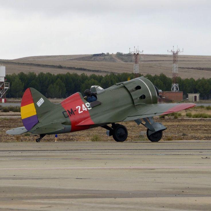 POLIKARPOV I-16 Mosca. Spanish Republic Air Forces