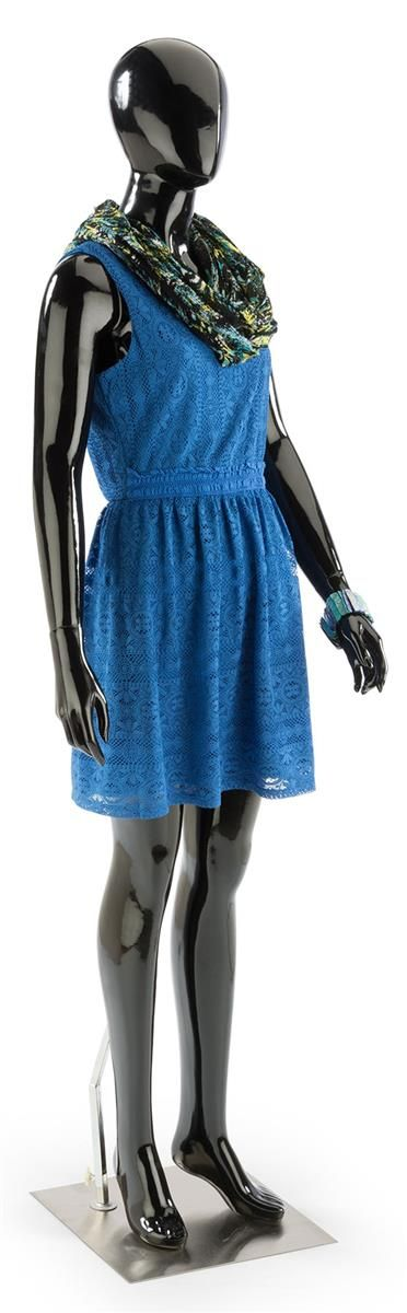 Abstract Black Mannequin   Full Body Female Form #FashionFriday