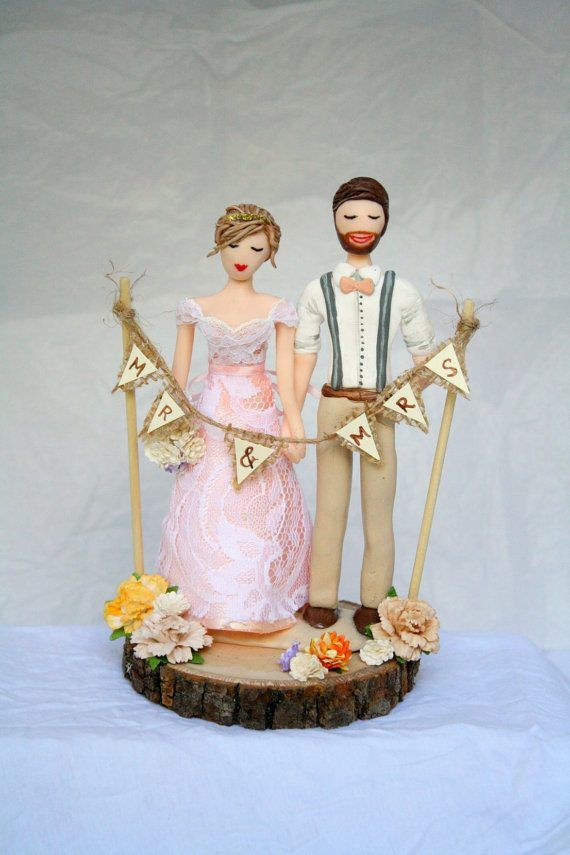 Wedding Cake Toppers: 75 (Fun!) + Most Unique Wedding Cake Toppers