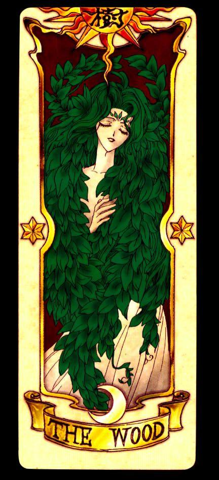 Clow Card Wood by Red-Ladix.deviantart.com on @DeviantArt