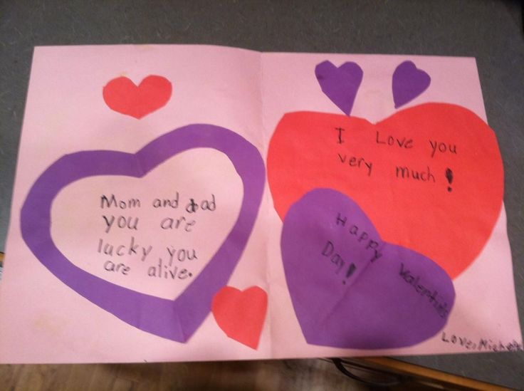 816 best images about Yes Its Love For Valentine – Homemade Valentines Day Cards Kids