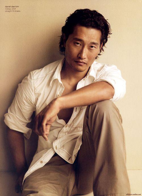 Daniel Dae Kim - Love this laid back style!