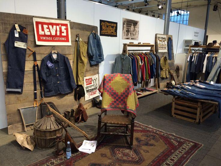Levi's hatte eine Vintage-Linie mit im Gepäck. #backyardbackstage #ciff
