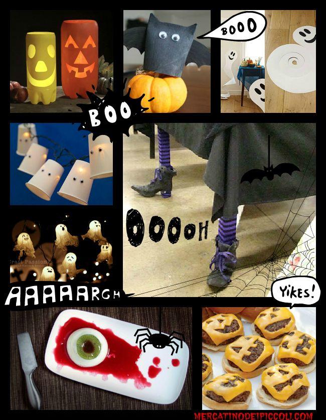 diy halloween | ... uno spaventoso Halloween FaiDaTe 8 easy ideas & a scary DIY Halloween
