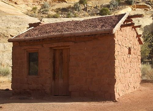 Adobe Mud Brick House Eco Natural Houses Pinterest