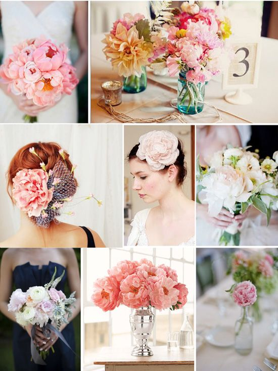 I want peony flowers for the wedding