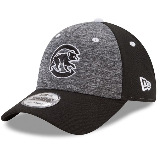 Chicago Cubs Black League Shadow 9FORTY Cap  #ChicagoCubs #Cubs #FlyTheW #MLB #ThatsCub