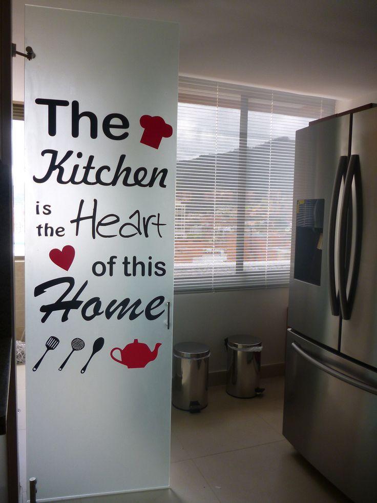 Vinilo decorativo para tu cocina. #decoración #vinilosdecorativos #diseño