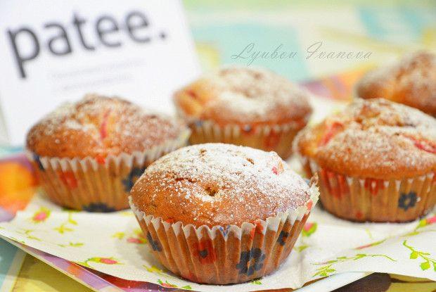 Кексы с ревенем рецепт – выпечка и десерты. «Афиша-Еда»