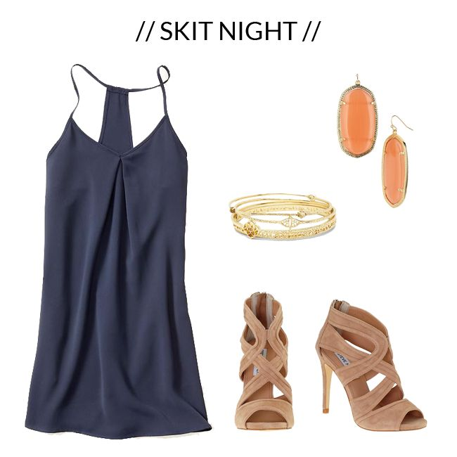 What To Wear: Skit Night // Texas A&M Sorority Recruitment
