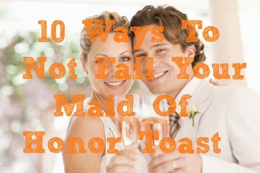 How To Be The Best Maid Of Honor: Best 20+ Maid Of Honor Toast Ideas On Pinterest