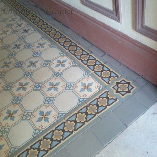 42 best carrelages anciens carreaux de ciment images on for Parquet carrelage paris 17