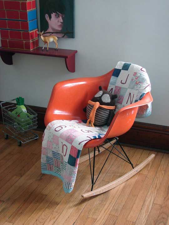 would love to have an eames rocker for the little man's room.