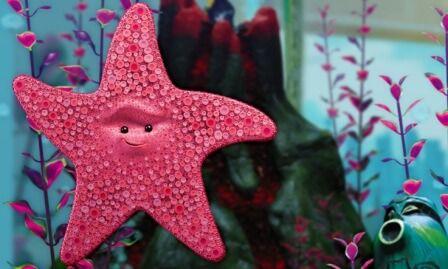 Peach is a Starfish: Finding Nemo
