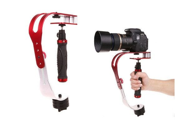 The Professional Steady Video Stabilizer is the most affordable full-featured stabilizer on the market. Shake-Free video with Our Superior Handheld Camera Stabi