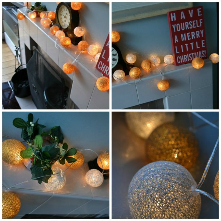 Cotton Lights Christmas Edition av @Antonia Ludden tidyawaytoday.co.uk  Fås hos www.multitrend.no - gratis frakt!