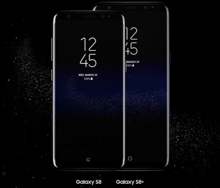 S8 and S8 Plus Screen Size