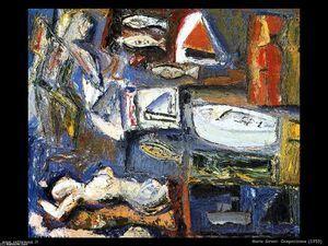 Composition - (Mario Sironi)