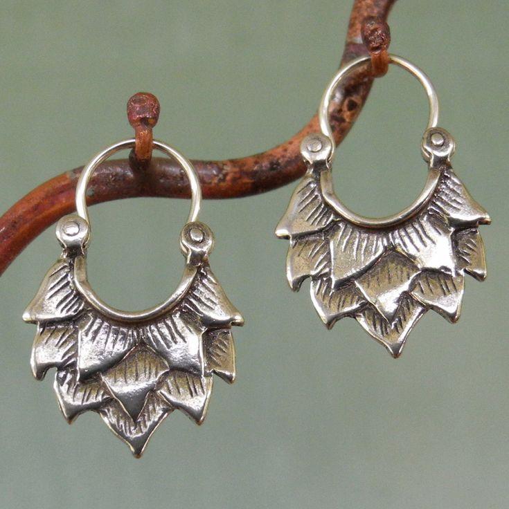 Earrings | Manya Pickard. Sterling silver