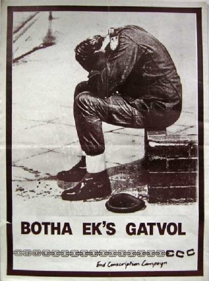 End Conscription Campaign Poster (1987)