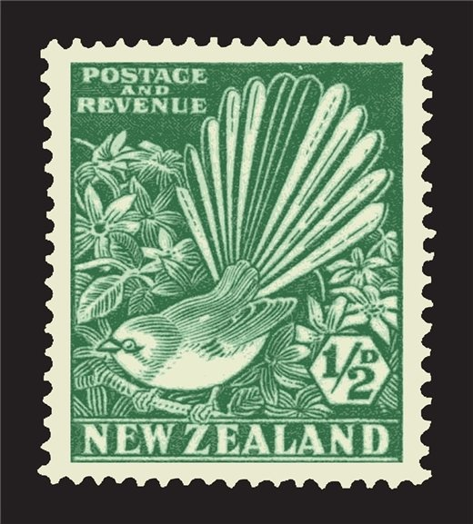 Fantail Stamp