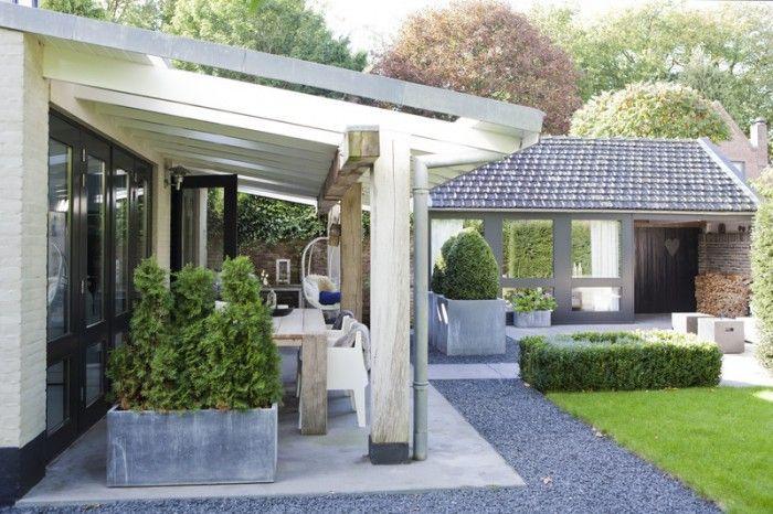 Stoere veranda! Prachtig!