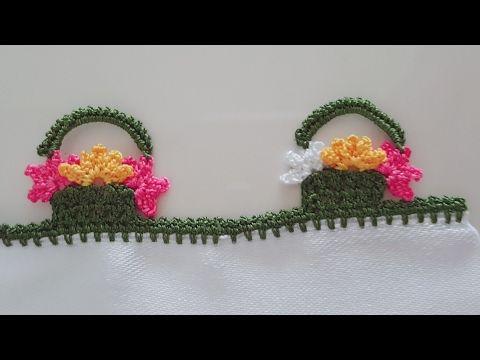 Katlı Çiçek Oyası Yapımı - YouTube