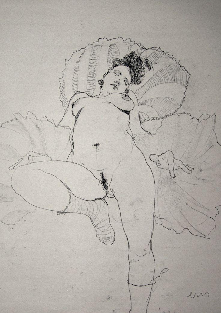 NUDE No. 3264 60 x 40 cm